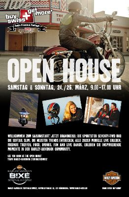 Flyer Bixe Open House - 2012