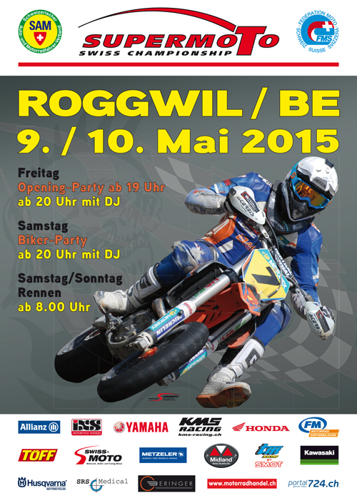 Flyer Supermoto Roggwil 2015