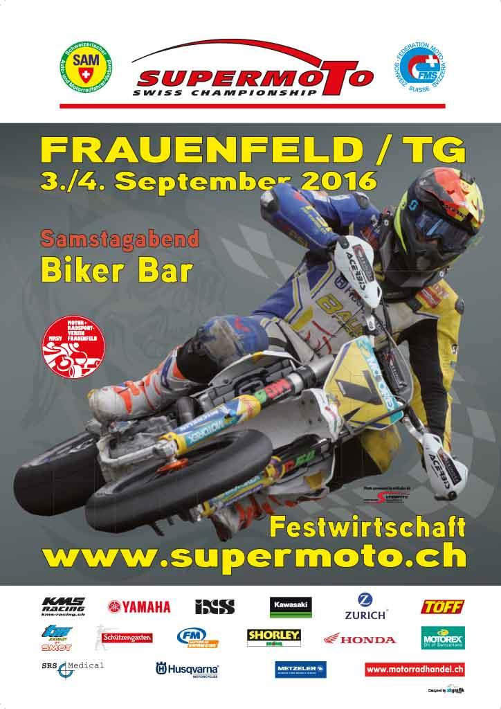 Supermoto Frauenfeld 2016
